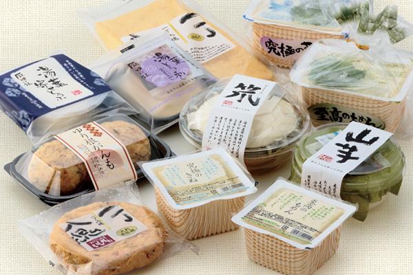 豆腐・豆腐パッケージ