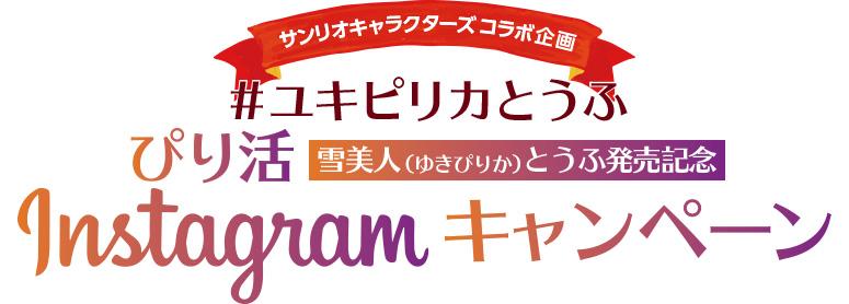 サンリオキャラクターズコラボ企画インスタグラムキャンペーン